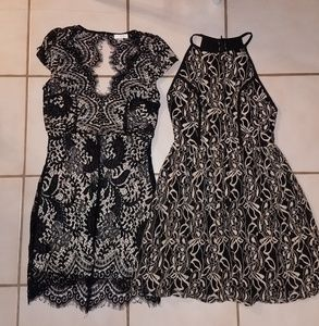 Cocktail Dress Lot (size: S/S)